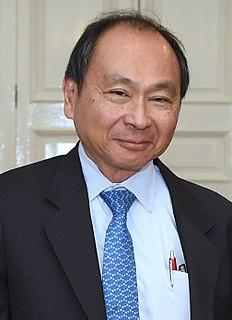 Francis Fukuyama American political scientist, political economist, and author