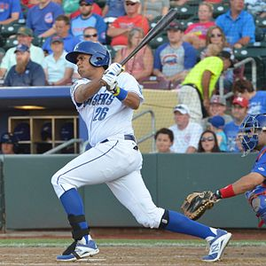 Francisco Peña (baseball) - Image: Francisco Peña on July 8, 2014