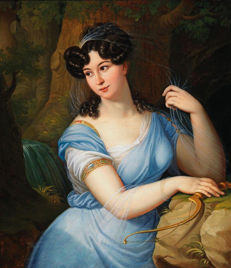 Францишек Ксаверий Лампи Портрет дамы 1829.jpg
