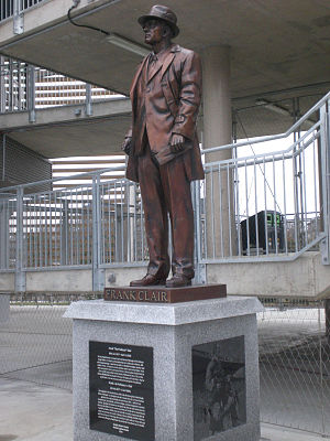 Frank Clair - Statue of Frank Clair in TD Place Stadium