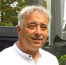 Frank Cottrell Boyce on September 9, 2015, in Berlin.JPG
