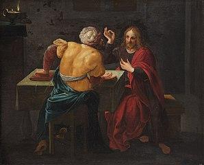Christus und Nikodemus