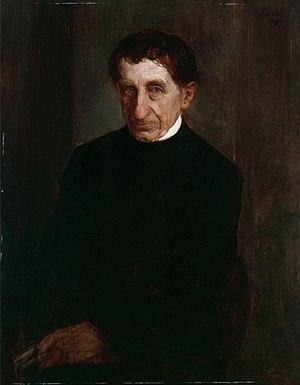 Ignaz von Döllinger - Portrait of Döllinger, by Franz von Lenbach, 1878.