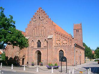Greyfriars Abbey, Ystad - Image: Franziskander von SW