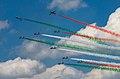 Frecce Tricolori NL Air Force Days (9288702295).jpg
