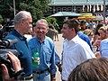 Fred Thompson receives state fair tour (1151705289).jpg
