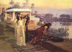 Frederick Arthur Bridgman - Cleopatra on the Terraces of Philae.JPG