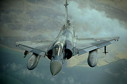 French Mirage 2000 finishes refueling from KC-10A 2009-12-06.JPG