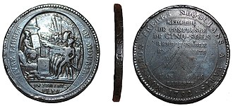 Soho Mint - A French revolutionary shop token, minted at Soho in 1791 or 1792