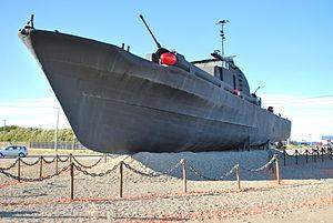 Chilean Torpedo boat Quidora (PTF-82) - Image: Fresia en Punta Arenas