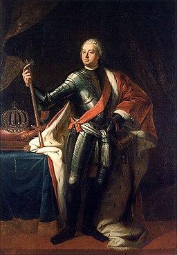 Friedrich Wilhelm I 1713