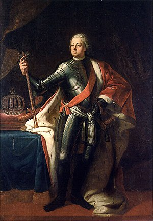 Frederick William I of Prussia - Portrait by Samuel Theodor Gericke (1713)