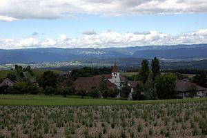 Seedorf, Bern - Frienisberg village in Seedorf municipality