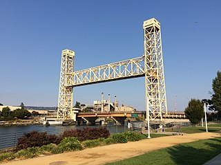 Fruitvale Bridge Bridge between Alameda and Oakland, California, U.S.