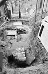 funderingen noordelijke zijkapellen van het schip gezien naar het oosten - grave - 20083873 - rce