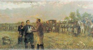 Manuel Dorrego - Execution of Manuel Dorrego.