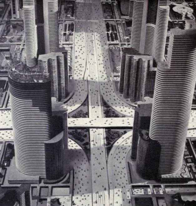 Futurama diorama detail