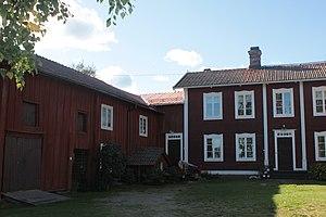 Decorated Farmhouses of Hälsingland - Image: Gästgivars Lada