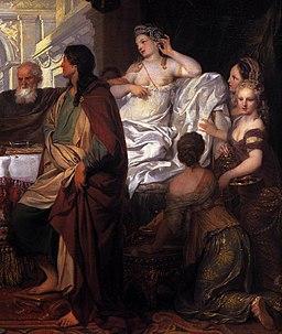 Gérard de Lairesse - Cleopatra's Banquet (detail) - WGA12389