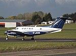 G-JASS Beechcarft King Air 200 Atlantic Bridge Aviation Ltd (30684674306).jpg