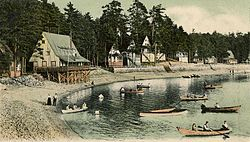 Mousam Lake in 1905