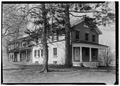 GENERAL VIEW OF SIDE AND END WITH ENTRANCE - Community Place, Skaneateles, Onondaga County, NY HABS NY,34-SKA,6-1.tif