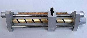Giant magnetoresistance - A copy of the GMR sensor developed by Peter Grünberg