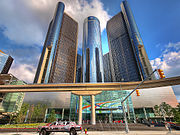 GM Renaissance Center from below.jpg