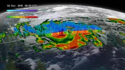 Պատկեր:GPM Captures Hurricane Matthew Before Haiti Landfall.webm
