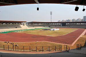 Gachibowli Athletic Stadium - Image: Gachibowli Outdoor 35