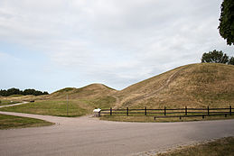 Burial mounds at Gamle Uppsala.