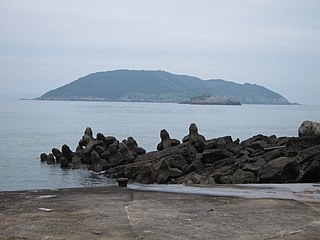 Gaodeng Island Islet west of Taiwan.