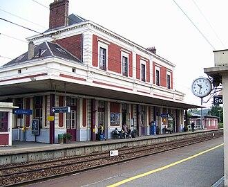 Gare de Bernay - Bernay station