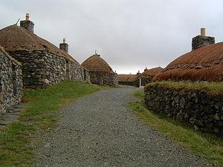 Garenin Human settlement in Scotland