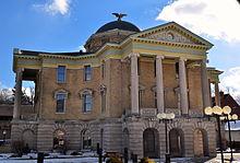 Corte del Condado de Garrett, Maryland.JPG