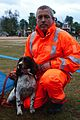 Gary Carroll and his rescue dog, Diesel (17313667835).jpg