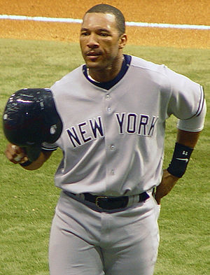 Gary Sheffield - Sheffield with the Yankees in 2005