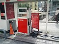 Gas pump in tiny curbside gas station (18813116025).jpg