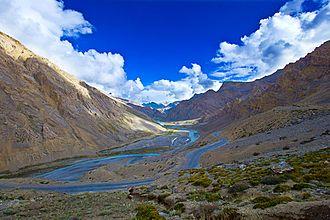 Leh–Manali Highway - The road between Leh-Manali in Ladakh.