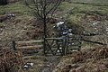Gate on path across Birkett Houses Allotment - geograph.org.uk - 1153547.jpg