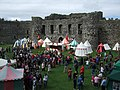 Gathering at Beaumaris Castle - geograph.org.uk - 2000993.jpg