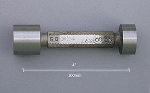 Go/no go gauge - Hardened and ground plug gauge