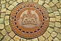 Gebrüder Schreitel Kanaldeckel mit Wappen der Landeshauptstadt Hannover Kanalisaton Klasse B Calenberger Straße vor dem Regierungsgebäude.jpg