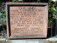 Gedenktafel Karl May 01.jpg