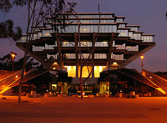 University of California, San Diego - Geisel Library, named for Theodor Geisel, who was better known as Dr. Seuss