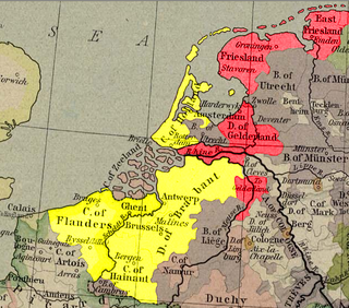 series of conflicts in the Low Countries