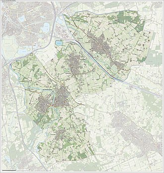 Sint-Michielsgestel - Dutch Topographic map of Sint-Michielsgestel, June 2015