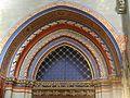 Genève Cathédrale St. Pierre Innen Makkabäer-Kapelle Portal 2.JPG