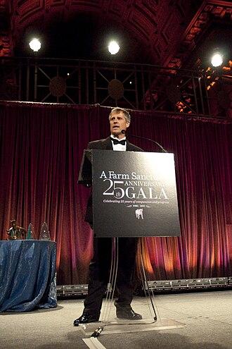 Gene Baur - Gene Baur at the Farm Sanctuary 25th Anniversary Gala in New York City