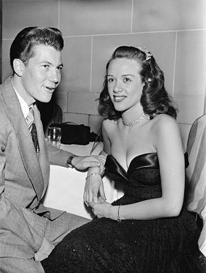 Fran Warren - Gene Williams and Fran Warren, New York City, ca. October 1947.